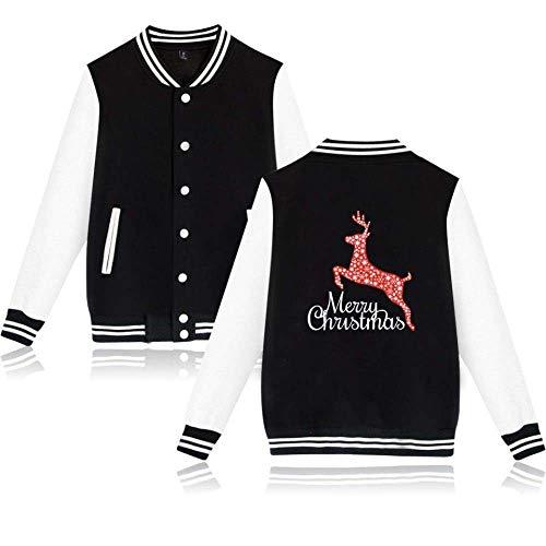Spfazj Santa Babbo Renna Natale Stampa E l Costume Di Baseball Suit D Casual Maschile La Tuta 44dxqFRrw