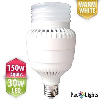 30 Watt Light Bulbs: [100-120v ONLY, Residential Version] PacLights Ultra150 Performance LED Light  Bulb 30,Lighting