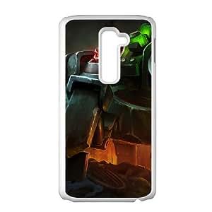 LG G2 Phone Case Cover White League of Legends Battlecast Urgot EUA15991148 Pink Phone Cases
