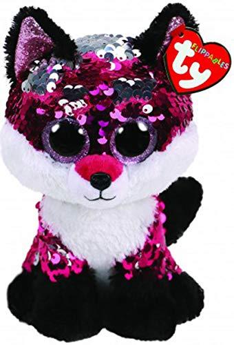 Ty - Beanie Boos - Flippables Jewel Fox /toys (Beanie Boo Medium Fox)
