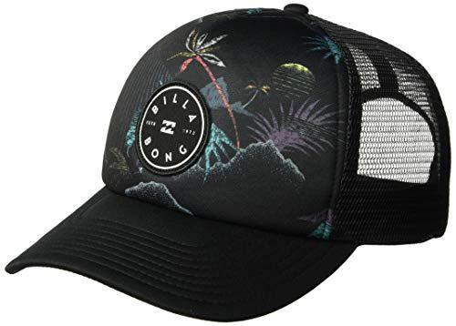 (Billabong Men's Scope Trucker Hat Black One Size)