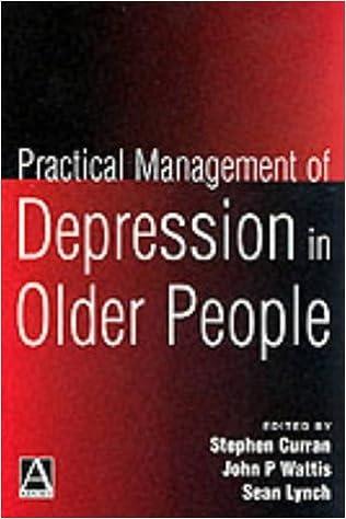 Book Practical Management of Depression in Older People (Hodder Arnold Publication)