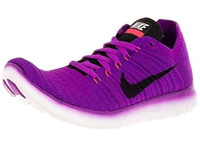 Amazon.com | Nike Women's Free Running Motion Flyknit