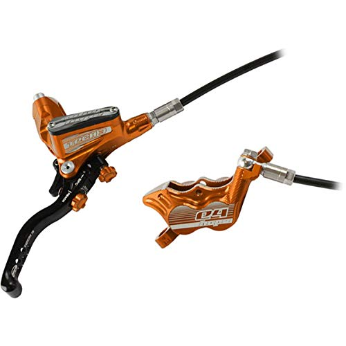 Hope Tech 3 E4 Disc Brake Orange, Rear