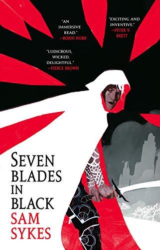 Book Cover: Seven Blades in Black