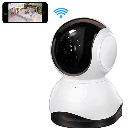 WIFI Camera for Home Security, Joney WiFi Security Camera Internet Surveillance Camera Built-in Microphone, WiFi Security IP Camera with iOS/Android App,Pan/Tilt with 2-Way Audio(720P)