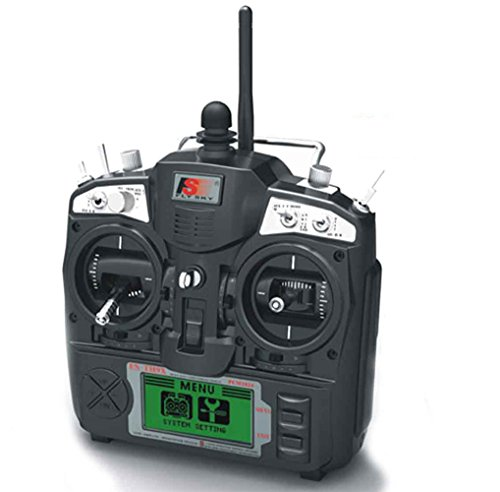 FS-TH9X 2.4G 9CH Radio Control Transmitter /& Receiver for RC Helicopter Airplane