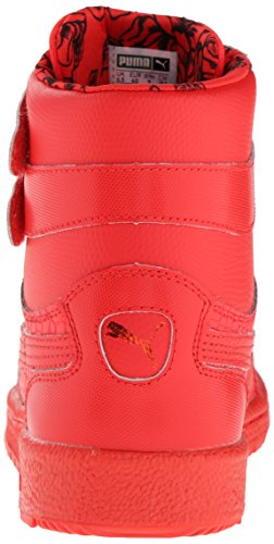 Puma Women's Sky II Hi Roses Sneaker High Risk Red/Black LE98EhafR