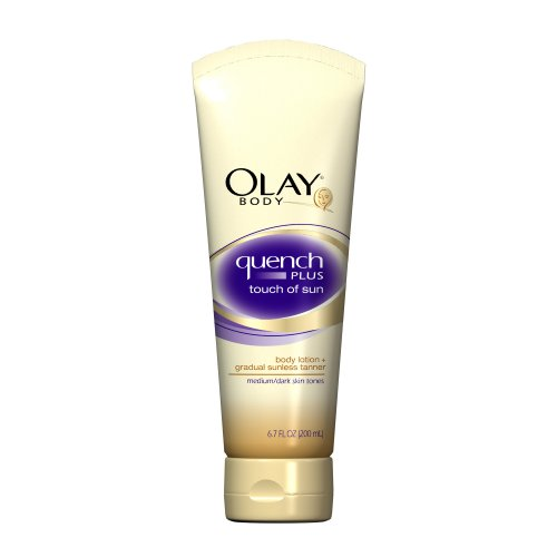 (Olay Quench Plus Touch Of Sun Body Lotion - Medium/Dark 6.7 Fl Oz (Pack of 3))