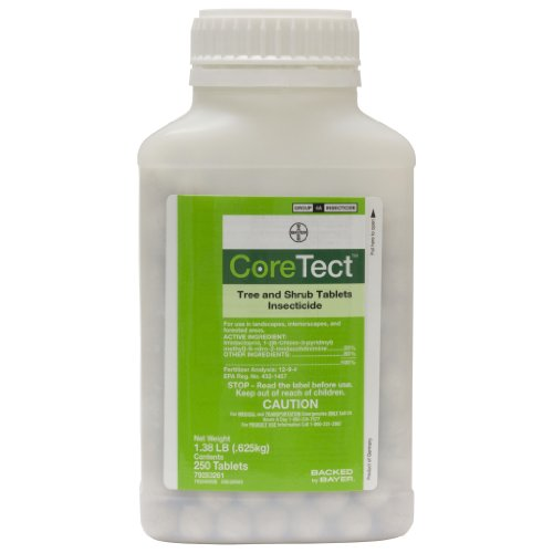 - Coretect Tree & Shrub Tablets Insecticide - 250 Tablets per bottle