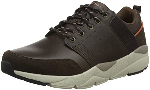 Recent Chocolate Herren Skechers Braun Chocolate Sneaker Meroso 65xOwF