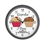 CafePress – cupcake time Wall Clock – Unique Decorative 10″ Wall Clock