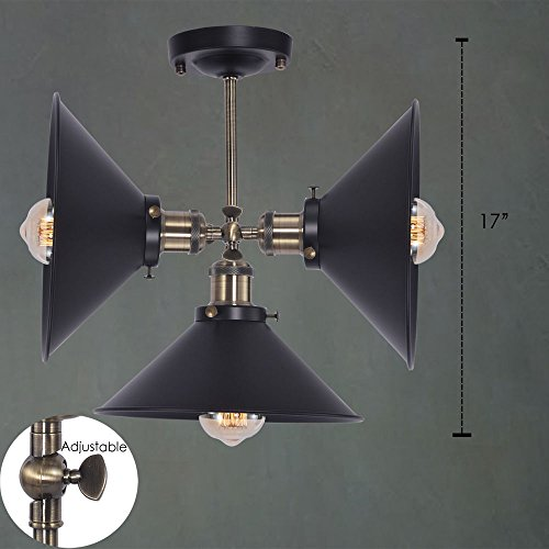XIDING Antique Industrial Edison Simplicity Wall Lamp