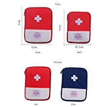 Small First Aid Empty Kit Bag Travel Camping Sport Medical Emergency Survival Outdoor First Responder Storage Bag
