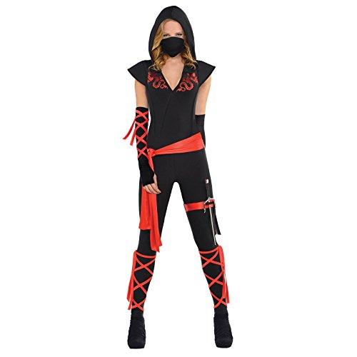 Dragon Fighter Ninja Costume - Medium - Dress Size 6-8