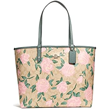 5164f4acd87fd where can i buy rogue bag coach 029ae 301bf  wholesale coach reversible  city tote with camo rose floral print style f25874 dd816 d759d