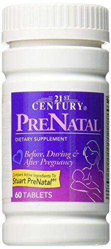 21st Century Prenatal Tablets, 3 Count - Century Tablet Vitamins 21st
