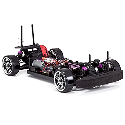 Redcat Racing EPX Drift Car with 7.2V 2000mAh Battery, 2.4GHz Radio and BL10315 Body (1/10  Scale), Metallic Blue: Toys & Games
