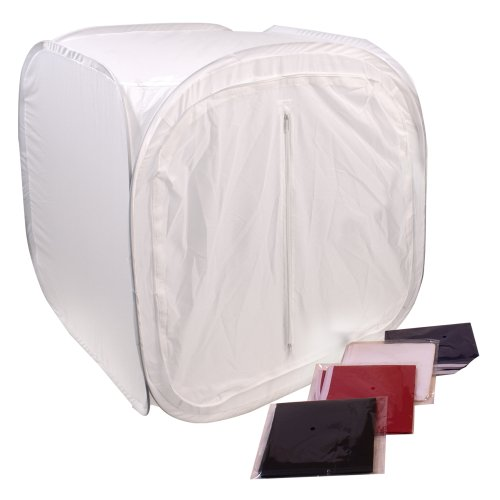 G-Star Photography 24 Inch Studio Photo Light Tent Lighting Box w/4 Backdrops by G-Star Photography