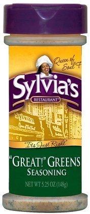Sylvias Great Greens Seasoning 5.5 OZ