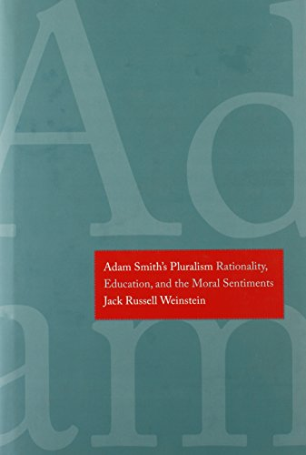 Adam Smith's Pluralism: Rationality, Education, and the Moral Sentiments