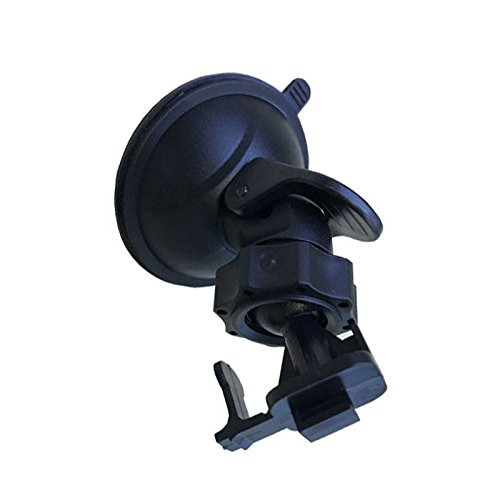 Merssavo Car Suction Cup Holder Stand PC Bracket 360 Degree Rotating Bracket For G1WH Xiaomi Yi Smar Black