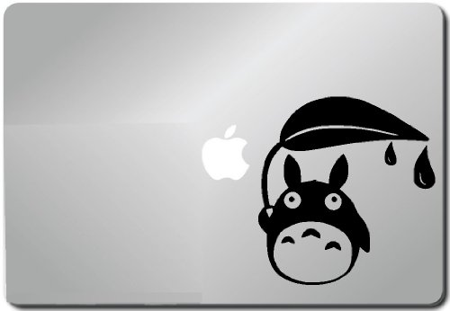 Totoro in Rain Apple Macbook Decal Sticker Skin Laptop Sticker Macbook Decal Computer Sticker Macbook 13 Inch Vinyl Decal Sticker Skin Cover Computer Sticker Computer Decal Decal Mac Decal for Mac Laptop Sticker Laptop Decal Newest Version Macbook Pro Laptop Quotes (Pc Decal compare prices)