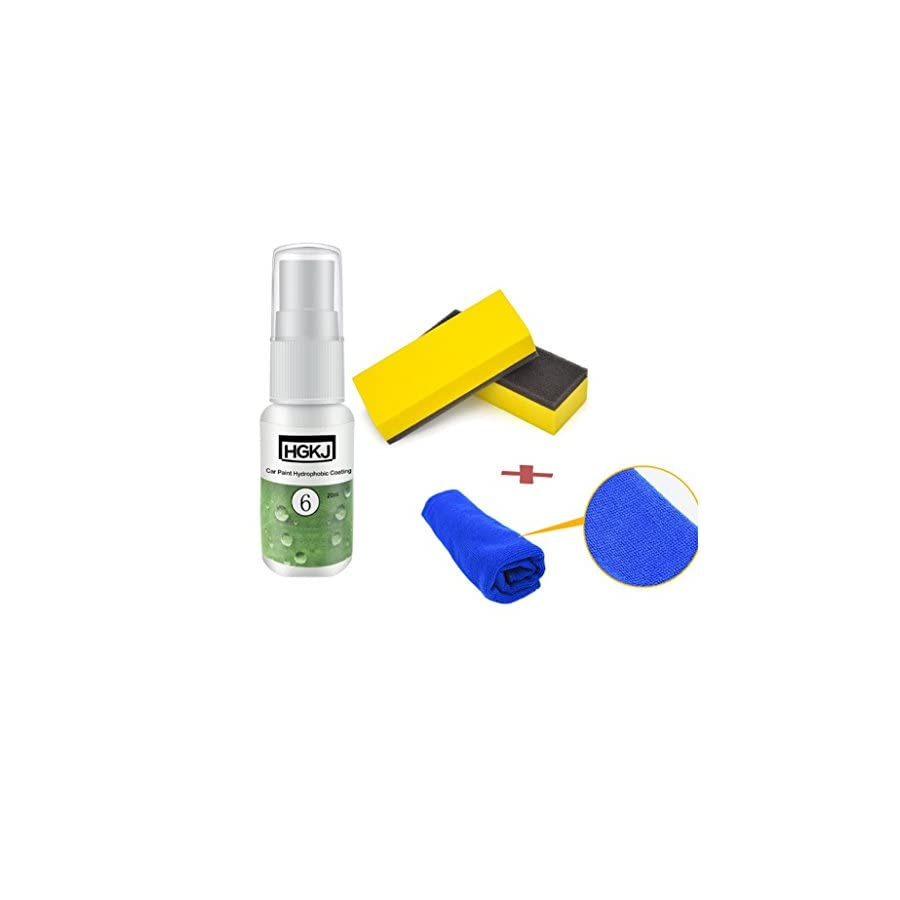 Staron Car Coating Kit, Car Paint Protecter Waterproof Rainproof Nano Hydrophobic Coating Auto Maintenance Accessories