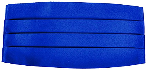 Men's Royal Blue Cummerbund Cumberbund for a Tuxedo One Size Royal Blue Cummerbund