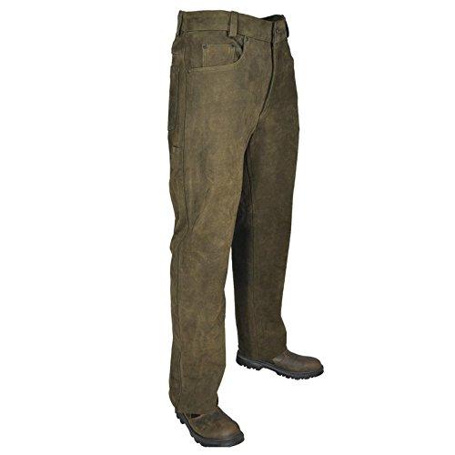 'Hubertus Pantaloni di Pelle Pantaloni da caccia Trapper 5-Pocket