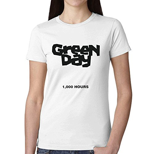 green-day-1000-hours-women-t-shirts-white