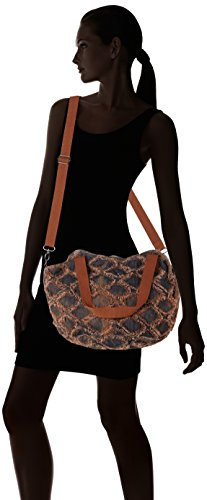 Sansibar Zip Bag - Borse a secchiello Donna, Braun (Rust), 25x28x31 cm (B x H T)
