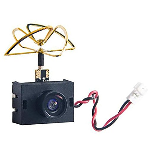 AKK A3 5.8G 40CH VTX 0/25mW/50mW/200mW Switchable 600TVL 1/3 Cmos Micro AIO FPV Camera for FPV Drone Like Tiny Whoop Blade Inductrix (with Shell)