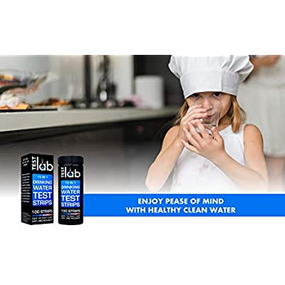 15 in 1 Drinking Water Test Kit Strips - Water Quality Test- Well Water and Tap Water - Low Level ranges for Lead, Fluoride, Iron, Copper: Health & Personal Care