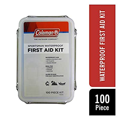 Coleman Sportsman Waterproof First Aid Kit, 100-Piece for boating by Coleman Repellents