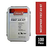 Coleman Sportsman Waterproof Outdoor First Aid Kit - 100 Pieces