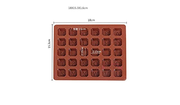 Amazon.com: 1 piece 26 letters + 4 whiteboards alphabet letter number cake silicone mold soap chocolate moule stampi in silicone moule a gateau: Kitchen & ...