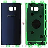 ePartSolution_Samsung Galaxy Note 5 N920 N920A N920T N920F Housing Battery Door Back Cover Glass Only Blue Color Replacement Part USA Seller