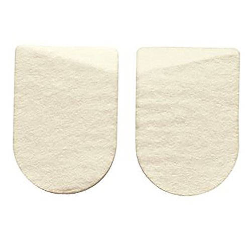 Physical Therapy Aids 081038983 Medial/Lateral Heel Pads 2'' by Physical Therapy Aids