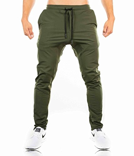 Dr Jean Lyrics (Summer-lavender Spring and Autumn Sports and Leisure Trousers Men's Running Training Fitness Trousers,ArmyGreen,XXL)