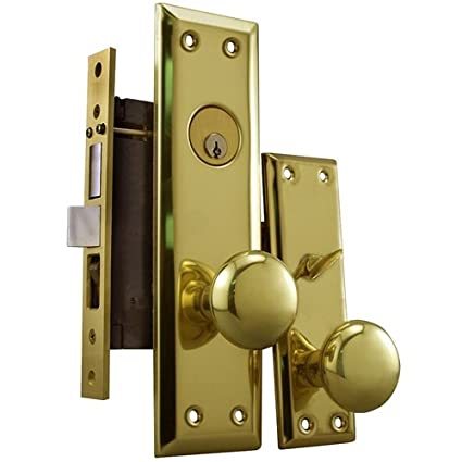 Maxtech Grade 2 NYC Apartment Entry Mortise Lockset (Like Marks 91A ...