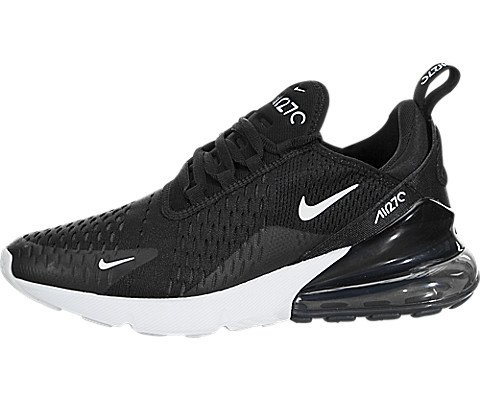 Nike Air Max 2017 Black Anthracite Womens Reflective Shoes 849560 004