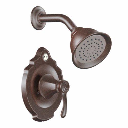 Temp Tub Vestige Posi - Moen T2502EPORB Vestige Posi-Temp Shower Trim Kit without Valve, Oil Rubbed Bronze
