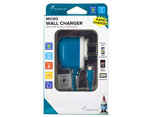 bulk-buys-el176-travelocity-micro-usb-wall-charger-blue