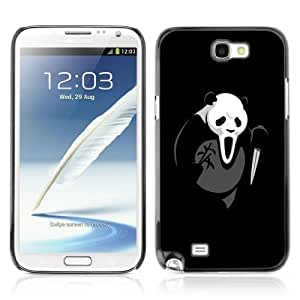 Designer Depo Hard Protection Case for Samsung Galaxy Note 2 N7100 / Scream Killer Panda Bear