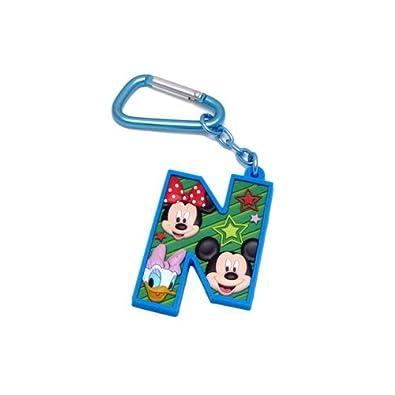 Mickey Mouse y sus amigos de la letra N Laser Cut Llavero ...
