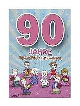 Depesche 5598.112 - Tarjeta de felicitación de 90 cumpleaños ...