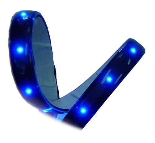 Vision X Lighting HIL-FM6R 6 Red Flexible LED Light Bar Pack of 2