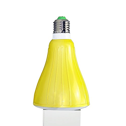 Tsuk Smart Bluetooth altoparlante da 52 mm – Luce LED dimmerabile, multicolore luci LED cambia colore – Smart LED lampadine per casa, ufficio, feste, cene – 5 Watt (40 Watt replacement) – Energy Effic