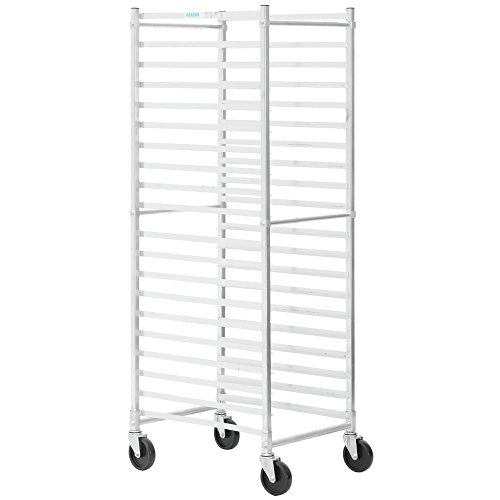 Bun Rack Load Pan (HUBERT End Load Bun Pan Rack For 20 Pans Aluminum - 26